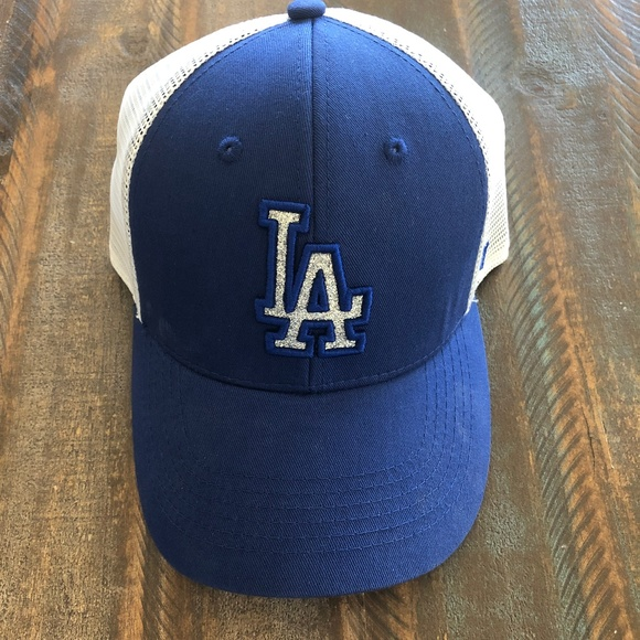 Dodgers Branson Glitta Trucker Strapback Cap